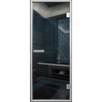 Стеклянная дверь АКМА ХАМАМ с сине-зеркальным покрытием