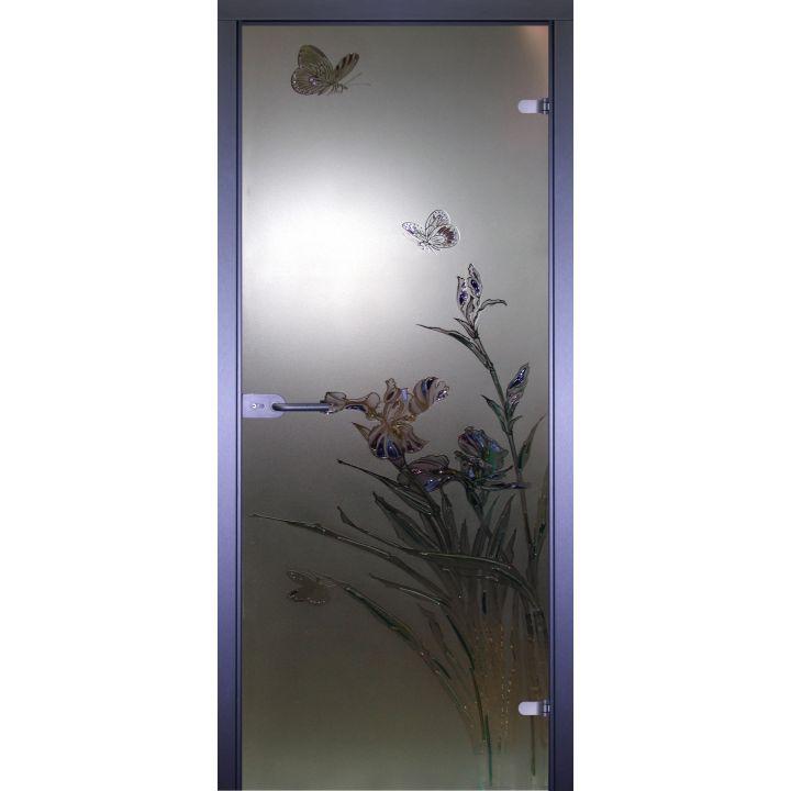 Стеклянная дверь АКМА ART-DECOR БАБОЧКА-1
