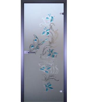 Стеклянная дверь АКМА ART-DECOR БАБОЧКА-2
