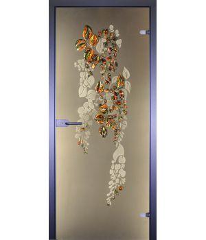 Стеклянная дверь АКМА ART-DECOR ГЛИЦИНИЯ