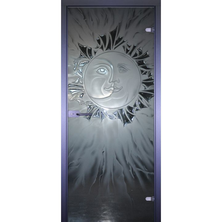 Стеклянная дверь АКМА ART-DECOR ЛУНА-СОЛНЦЕ
