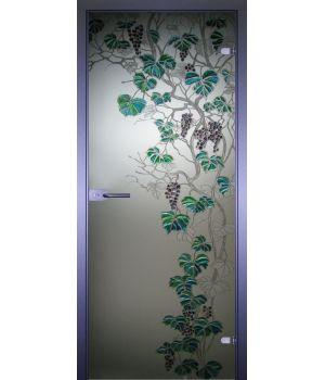 Стеклянная дверь АКМА ART-DECOR ВИНОГРАД-2
