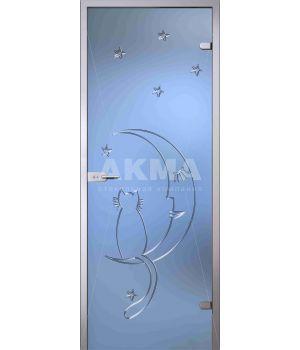 Стеклянная дверь АКМА Fantasy Ночь
