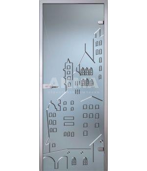Стеклянная дверь АКМА Fantasy Город