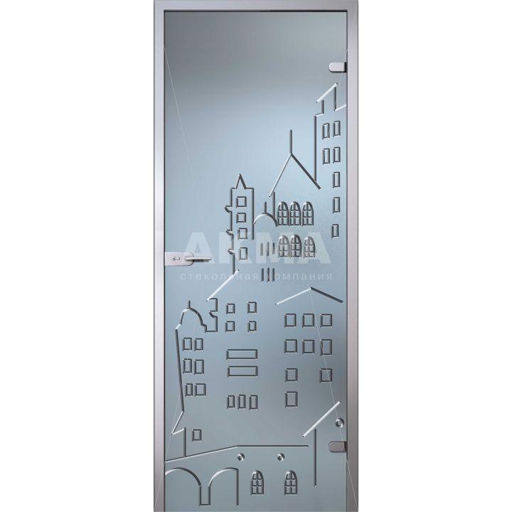 Стеклянная дверь АКМА Fantasy Тауэр