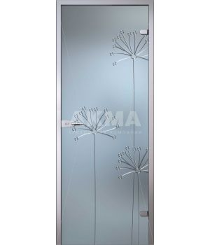 Стеклянная дверь АКМА Flowers Аллиум