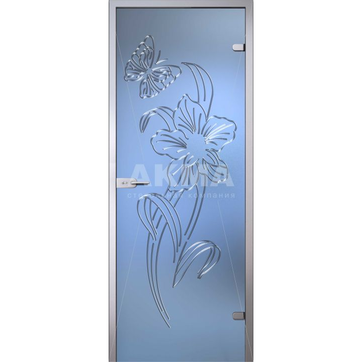 Стеклянная дверь АКМА Flowers Амариллис