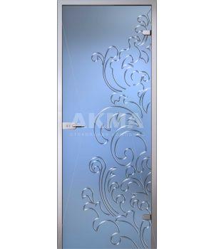 Стеклянная дверь АКМА Flowers Лилия