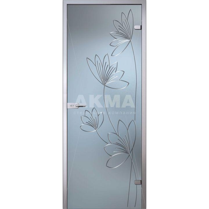 Стеклянная дверь АКМА Flowers Лотос
