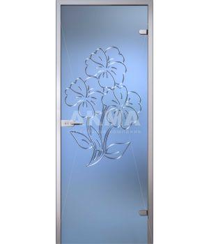 Стеклянная дверь АКМА Flowers Магнолия