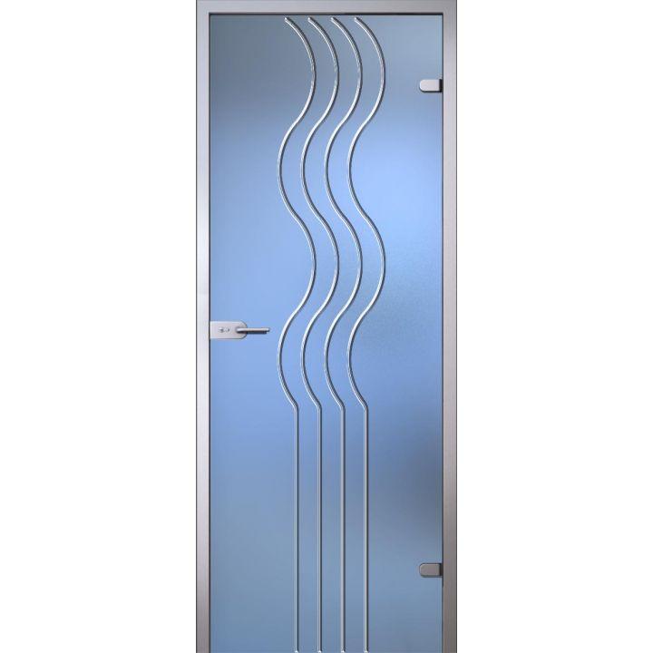 Стеклянная дверь АКМА Illusion Моника