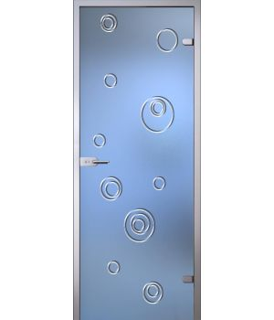 Стеклянная дверь АКМА Illusion Сабина