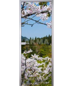 Стеклянная дверь АКМА IMAGINATION FLOWERS