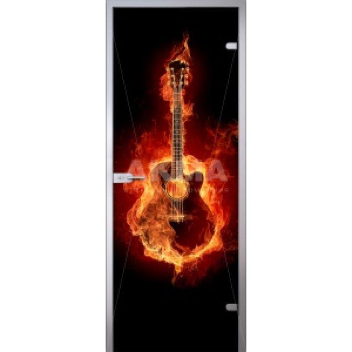 Стеклянная дверь АКМА IMAGINATION GUITAR