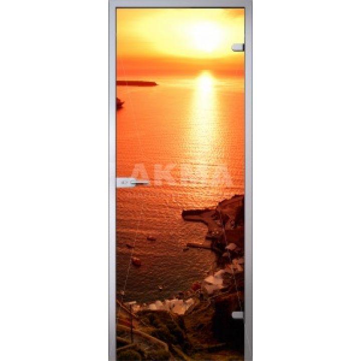 Стеклянная дверь АКМА IMAGINATION SUNSET