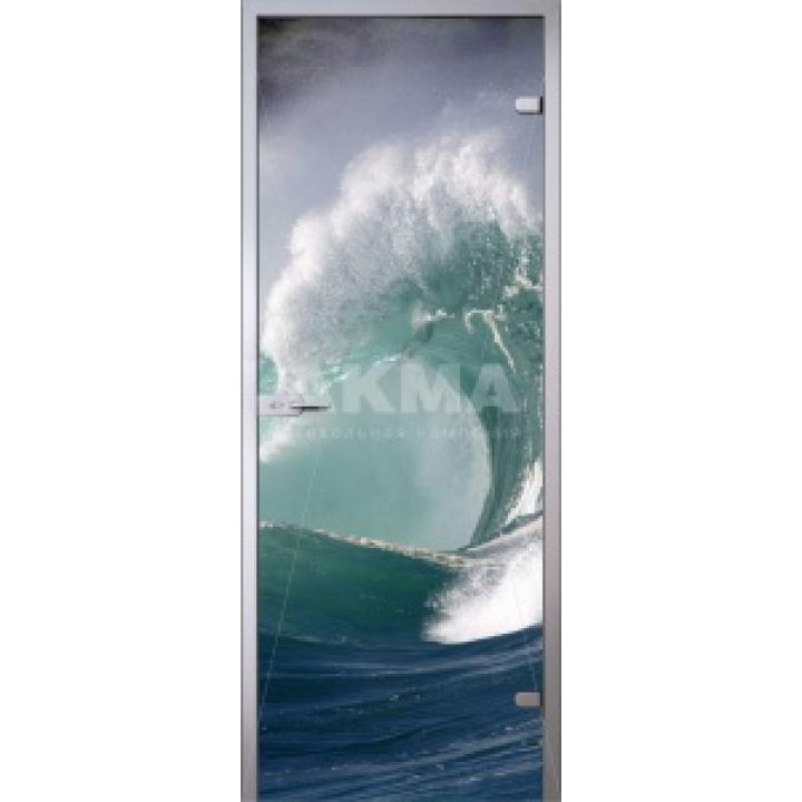 Стеклянная дверь АКМА IMAGINATION WAVE