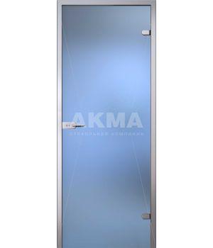 Стеклянная дверь АКМА LIGHT МАТОВОЕ БЕСЦВЕТНОЕ