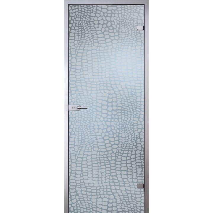 Стеклянная дверь АКМА SATIN АЛЛИГАТОР