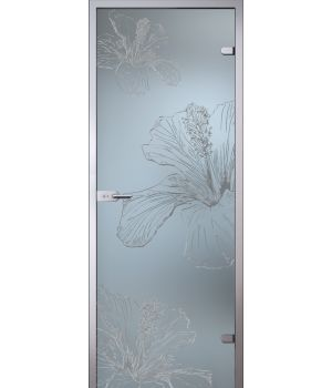 Стеклянная дверь АКМА SATIN ГЕРДА