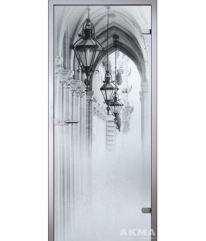 Стеклянная дверь АКМА SATIN АРКАДА