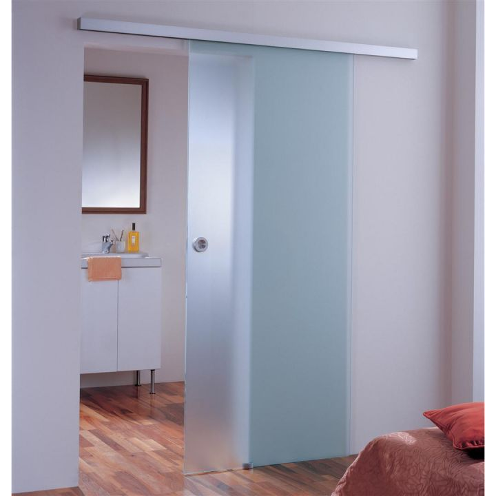 Раздвижная стеклянная дверь АКМА