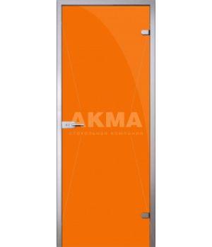 Стеклянная дверь АКМА TRIPLEX ORANGE