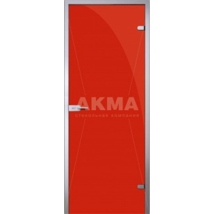 Стеклянная дверь АКМА TRIPLEX RED