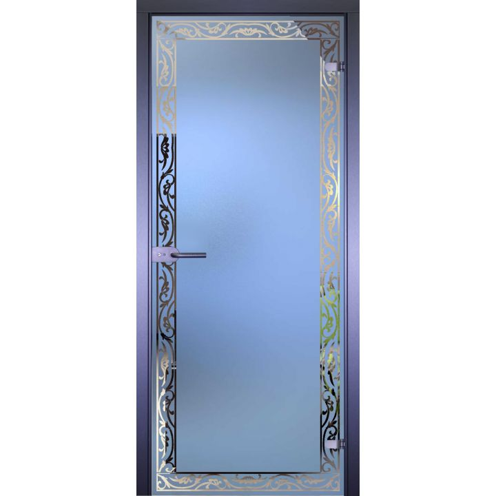 Стеклянная дверь АКМА MIRRA 0059 ОРНАМЕНТ