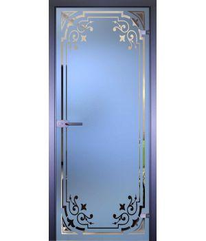 Стеклянная дверь АКМА MIRRA 0091 РАМКА