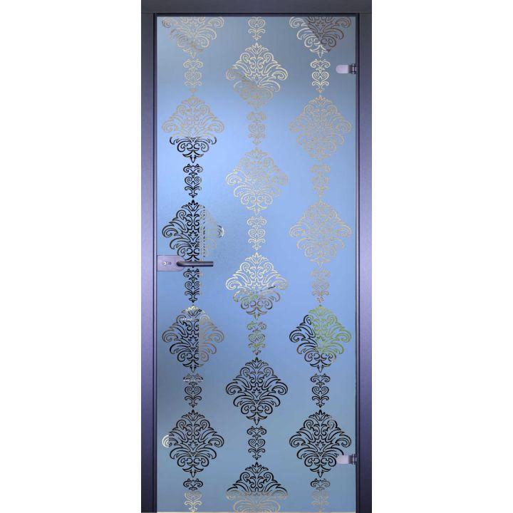 Стеклянная дверь АКМА MIRRA 0139 УЗОР