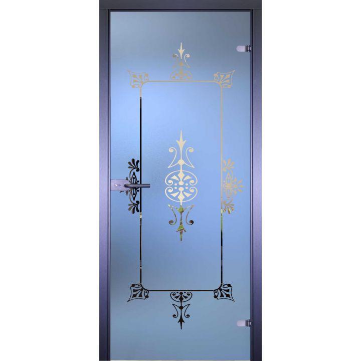 Стеклянная дверь АКМА MIRRA 0142 РАМКА