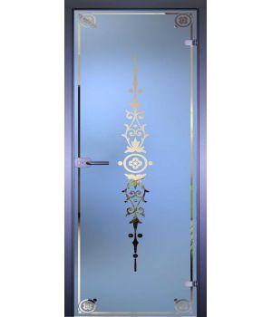 Стеклянная дверь АКМА MIRRA 0144 РАМКА
