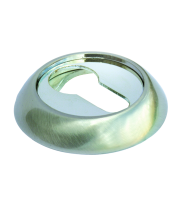 Накладки на ключевой цилиндр Morelli MH-KH SN/CP Белый никель